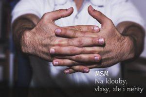 MSM pro krásné vlasy a nehty