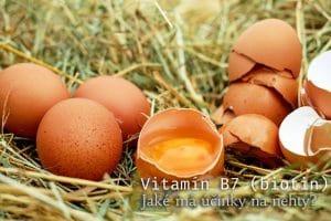 Vitamín B7 pro správný růst nehtů